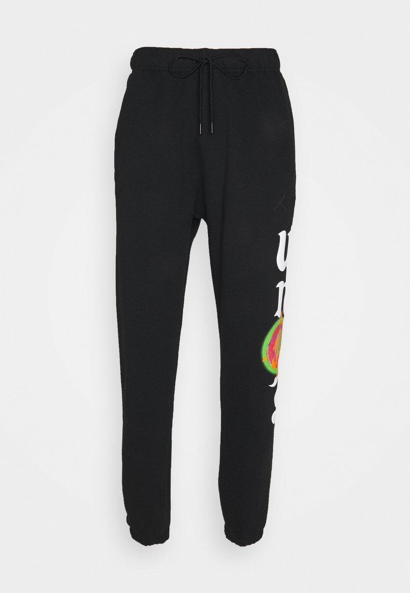 Jordan - WHY NOT PANT - Tracksuit bottoms - black/white