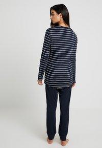 Schiesser - BASIC SET - Pyjama set - nachtblau - 2
