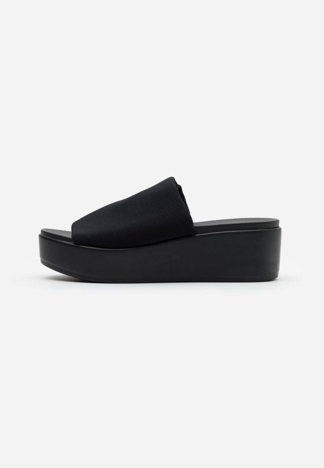 SHELBIE - Heeled mules - black