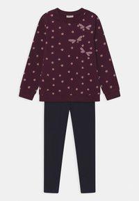 OVS - SET - Sweatshirt - grape wine - 0