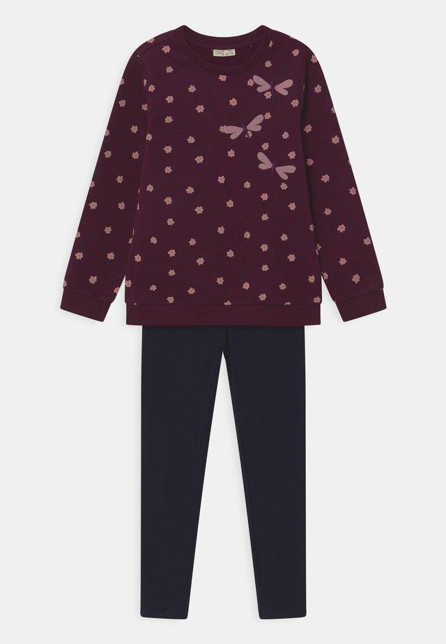 SET - Sweatshirts - grape wine