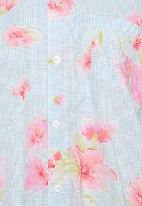 Lauren Ralph Lauren - SHORT SLPSHIRT 3/4 - Nattskjorte - turquoise - 2