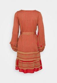 CECILIE copenhagen - LIV - Day dress - camel/red - 1