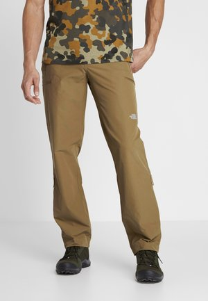 EXPLORATION - Outdoor trousers - british khaki