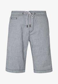 TOM TAILOR DENIM - Shorts - mottled light blue - 4