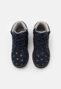 Friboo - Šněrovací kotníkové boty - dark blue - 3