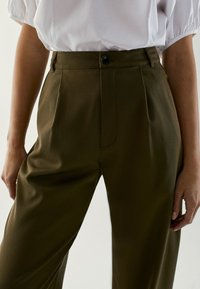 Massimo Dutti - Trousers - khaki - 3