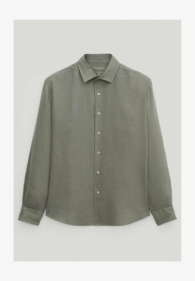 Massimo Dutti - Shirt - evergreen