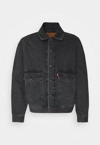 Levi's® - WORK TRUCKER - Kurtka jeansowa - blacks - 4