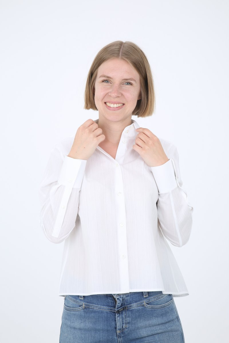 DRYKORN - CHARLAD - Button-down blouse - white