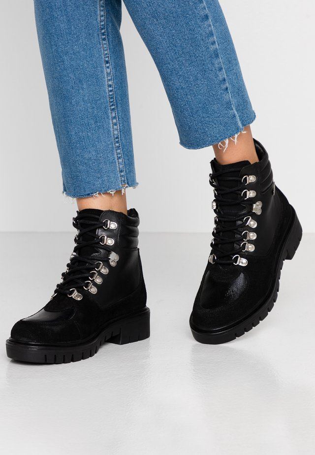 ZAZA - Lace-up ankle boots - noir