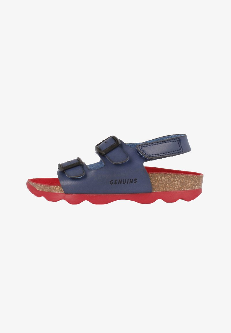 Genuins - KINDU VACHETTA - Sandals - navy