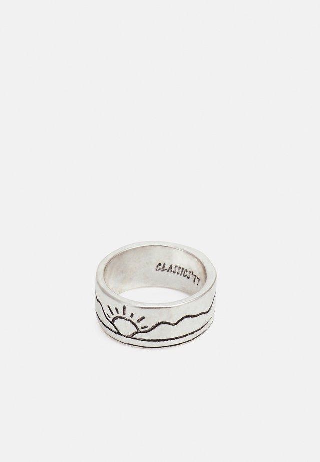 DESERT SUNSET BAND - Ringar - silver-coloured