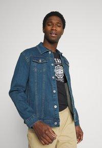 Solid - SDPEYTON - Denim jacket - dark vintage blue denim - 0