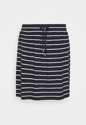 SKIRT - Spódnica mini - navy