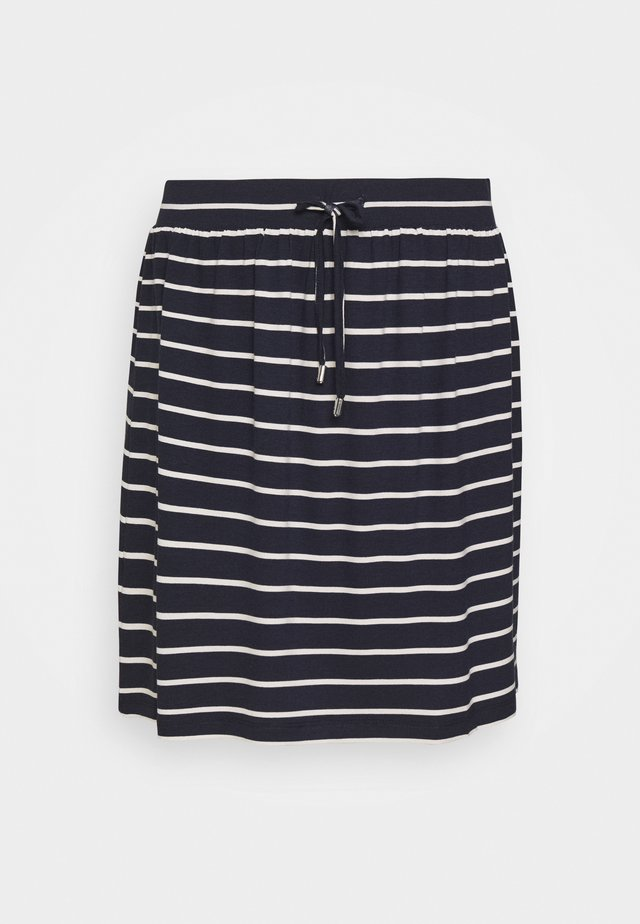 SKIRT - Minisukně - navy
