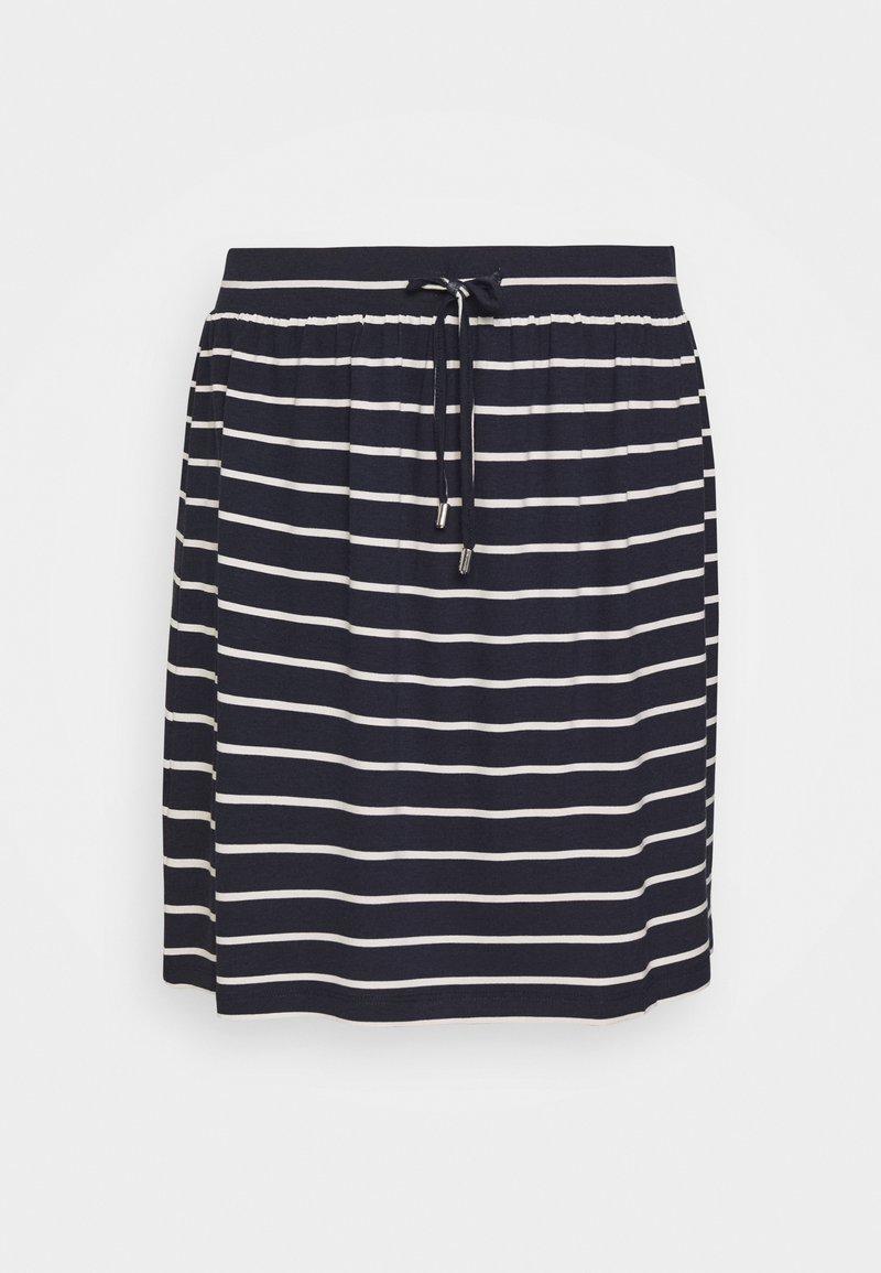 Esprit - SKIRT - Mini skirt - navy