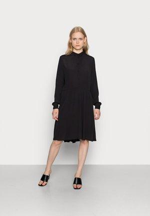 BINDIE DRESS - Košilové šaty - black