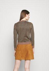 Alexa Chung - JUMPER - Strickpullover - light brown - 2