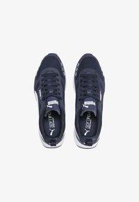 Puma - R78 UNISEX - Sneakers - peacoat- white - 1
