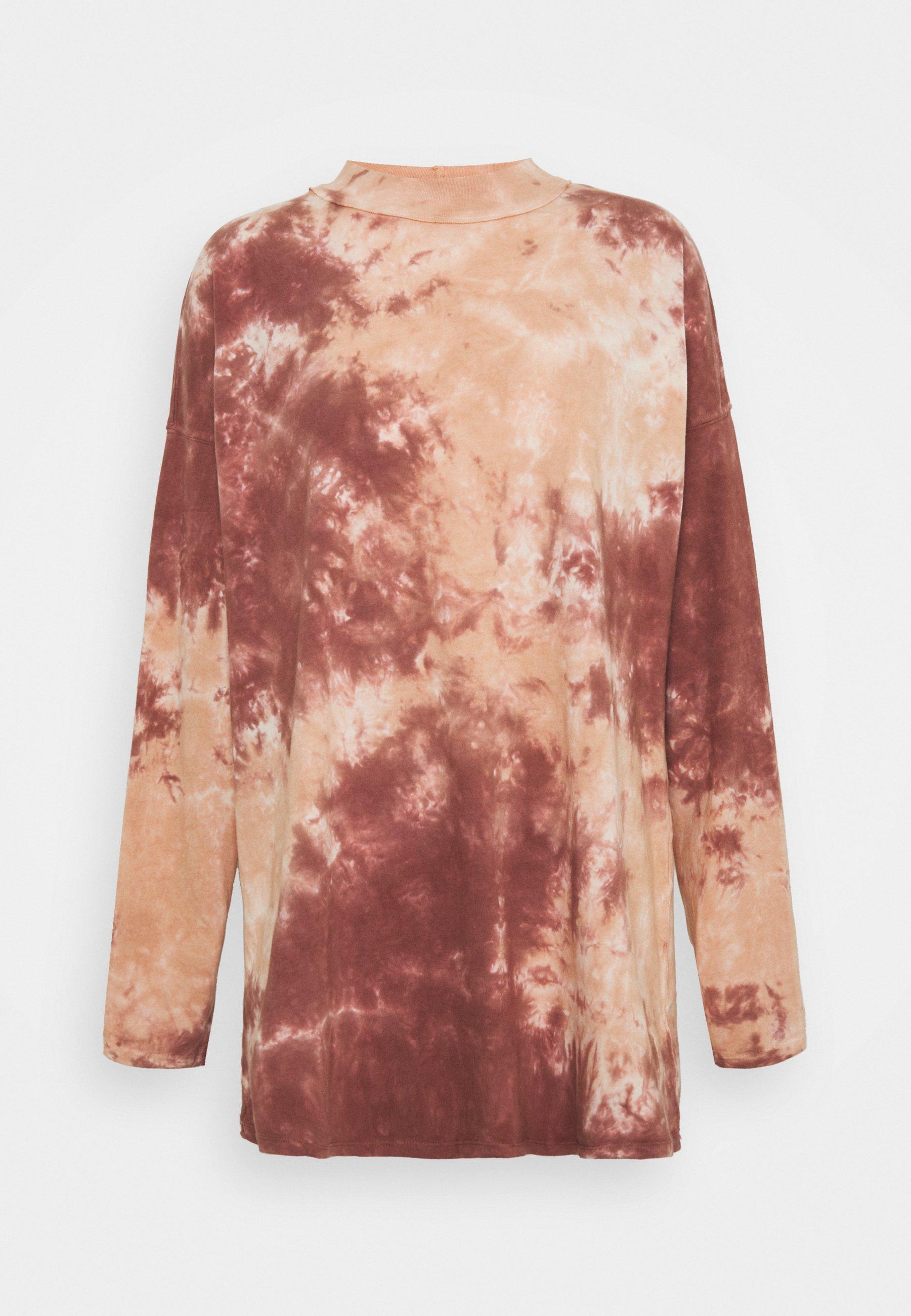 Women TIE DYE TEE - Long sleeved top