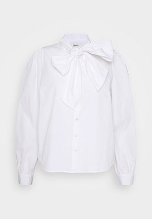 ONLBILLIE BOW PEARL LIFE - Blouse - white