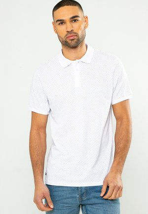 THREADBARE - Poloshirt - weiß