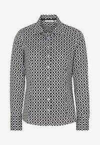 Eterna - MODERN CLASSIC - Button-down blouse - black - 3