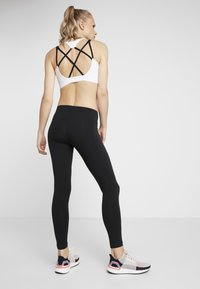 adidas Performance - LIN - Leggings - black/white - 2