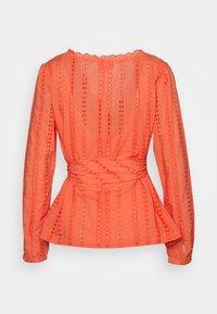 Marks & Spencer London - BROD WRAP  - Bluser - orange - 1