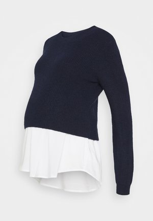 MANDY DETACHABLE NURSING - Jersey de punto - navy