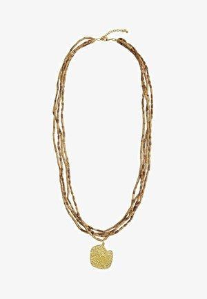 AURE - Necklace - marrone