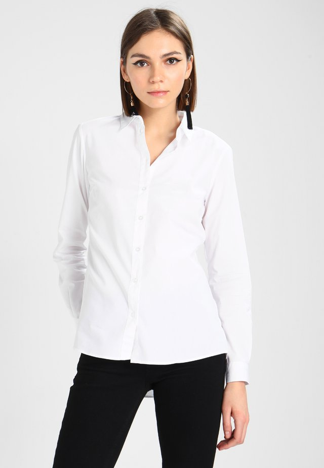JDYMIO - Button-down blouse - white