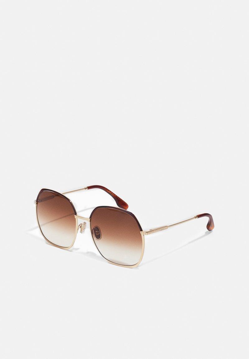 Victoria Beckham - Sunglasses - gold-coloured/brown