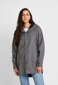 Rains - UNISEX JACKET - Impermeabile - charcoal - 3