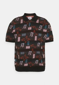 Obey Clothing - EDDY  - Polo shirt - black multi - 0