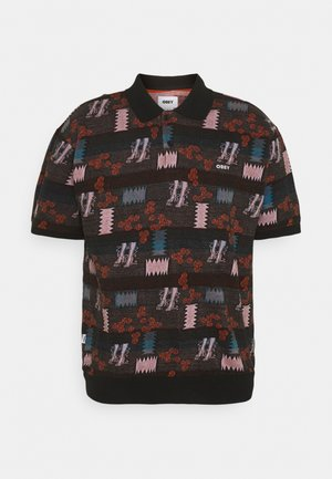 EDDY  - Polo shirt - black multi