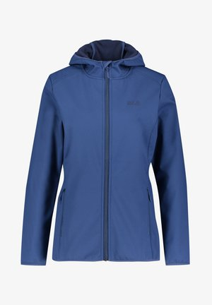 "JACK WOLFSKIN DAMEN MIT KAPUZE ""NORTHERN POINT WO - Soft shell jacket - marine (300)"