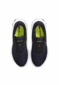 Nike Performance - RENEW RIDE 2 - Zapatillas de running neutras - blackened blue black cyber pink glow - 3