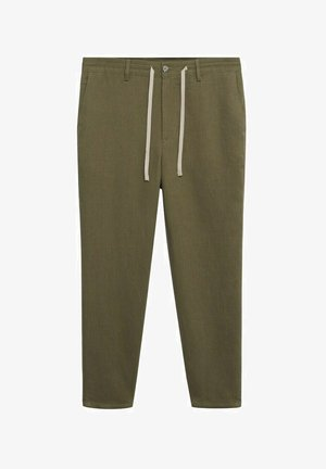 RELAXED FIT - Trousers - khaki