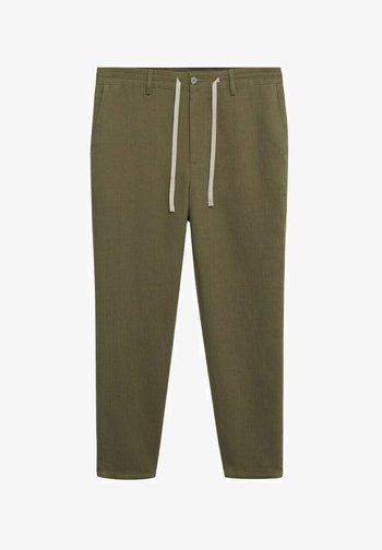 RELAXED FIT - Kalhoty - khaki