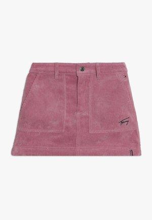 SKIRT - A-line skirt - purple