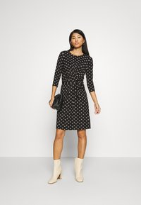 King Louie - HAILEY DRESS WILLOW - Day dress - black - 1