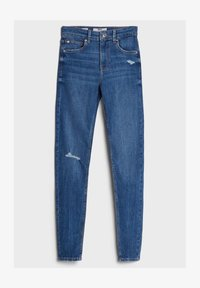 Bershka - MIT HOHEM BUND  - Jeans Skinny Fit - blue - 4