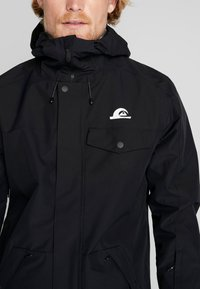 Quiksilver - IN THE HOOD - Laskettelutakki - black - 3