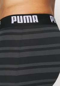 Puma - HERITAGE STRIPE 2 PACK - Panties - black - 4