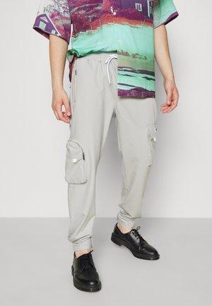 COLLANA TRACK PANTS UNISEX - Cargo trousers - mint