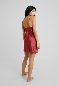 LingaDore - DAILY - Nightie - barn red - 2
