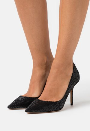 High heels - swanky black