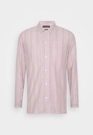 STRIPE CAMP  - Shirt - raspberry